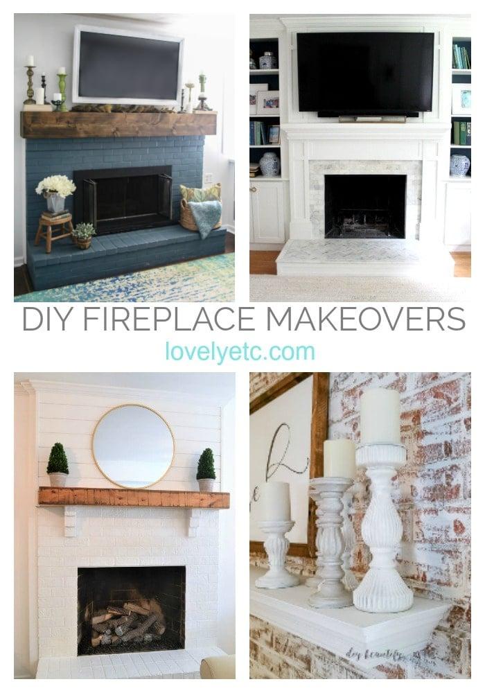 beautiful diy brick fireplace makeovers