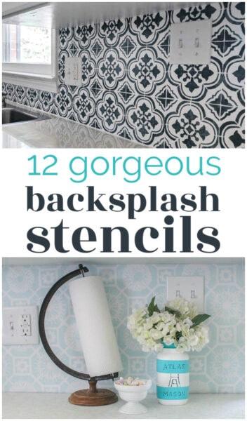 the best backsplash stencils for every