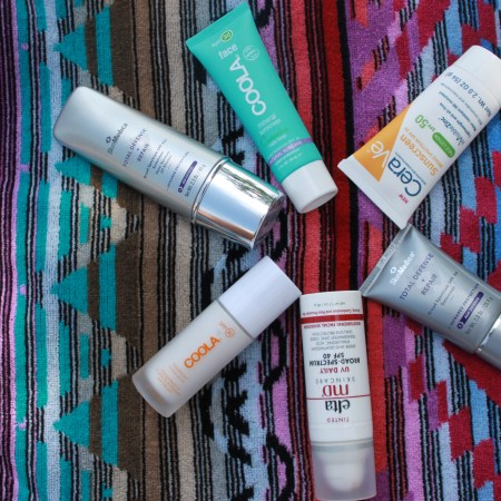 Sunscreen: Face Favorites