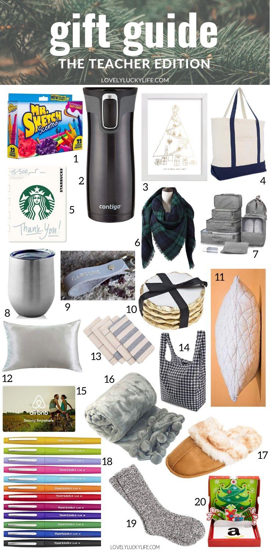 The Best Christmas Gifts For Teachers Lovely Lucky Life