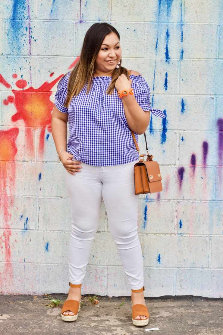 spring inspiration, white jeans for spring, spring outfit