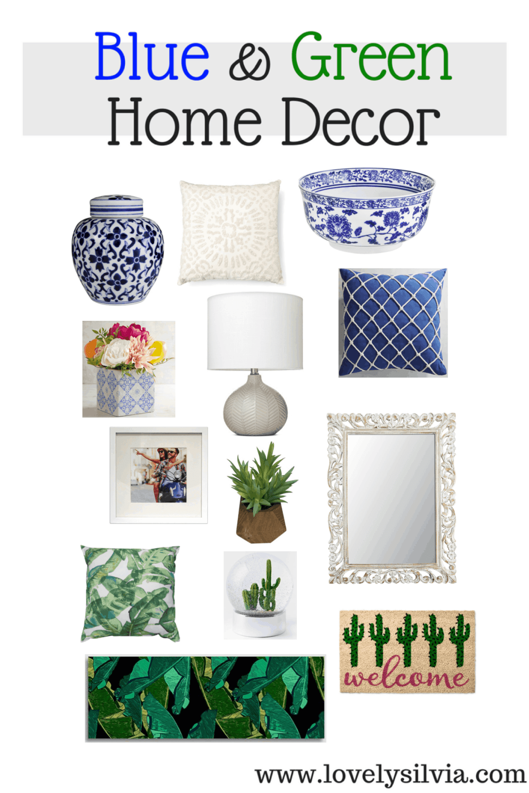 blue and green, home decor, home inspiration, green home decor, blue home decor, white home decor, target home decor, pier1 home decor, west elm home decor