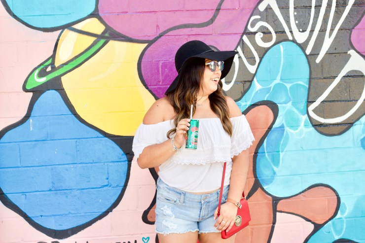 houston dreamers, houston dreamers mural, houston dreamers wall, houston dreamers graffiti, visiting houston, walls in houston, travel to houston, pictures in houston, perrier, perrier strawberry, summer with perrier