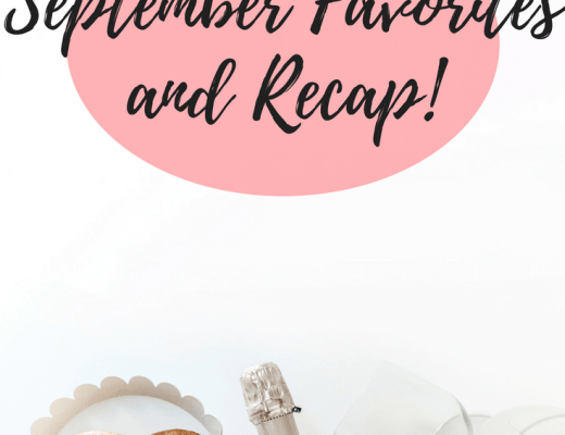 september favorites, september recap, monthly favorites, monthly recap