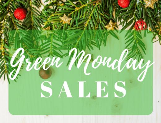 green monday, green monday sales, holiday sales, christmas sales