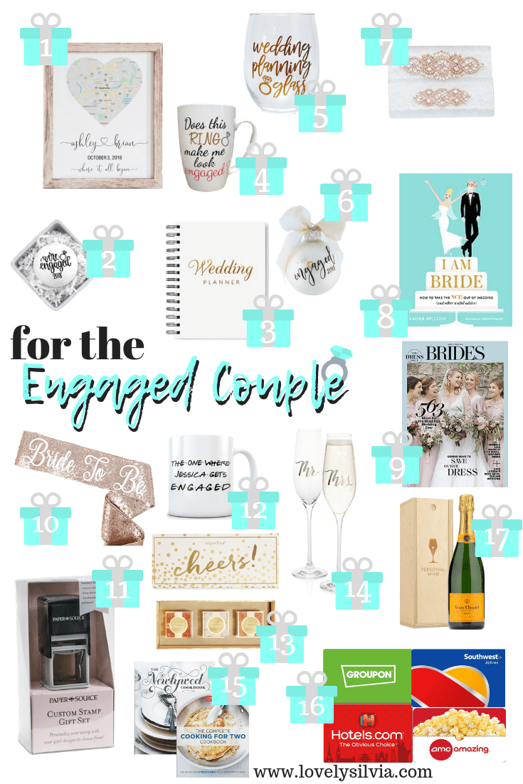 lovelysilvia - Gifts for the Engaged Couple | Lovely Silvia