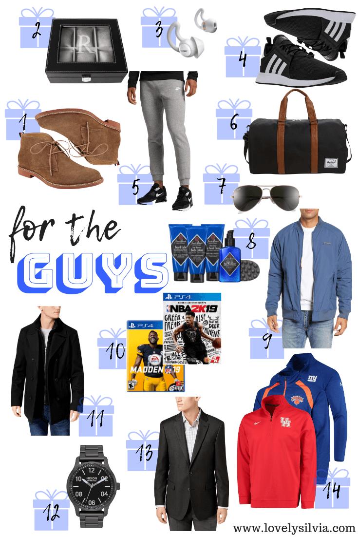 lovelysilvia - Guys Gift Guide 2018 | Lovely Silvia