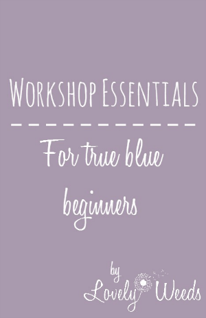 Workshop Essentials for Beginning DIYers
