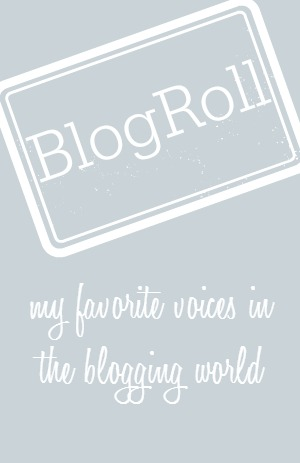 My favorite voices in the blogging world {www.lovelyweeds.com}