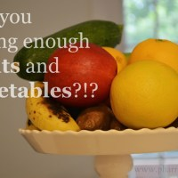 Wellness Wednesday - Fruit and Vegetable Servings
