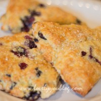 Blueberry Scones - Starbucks Recipe