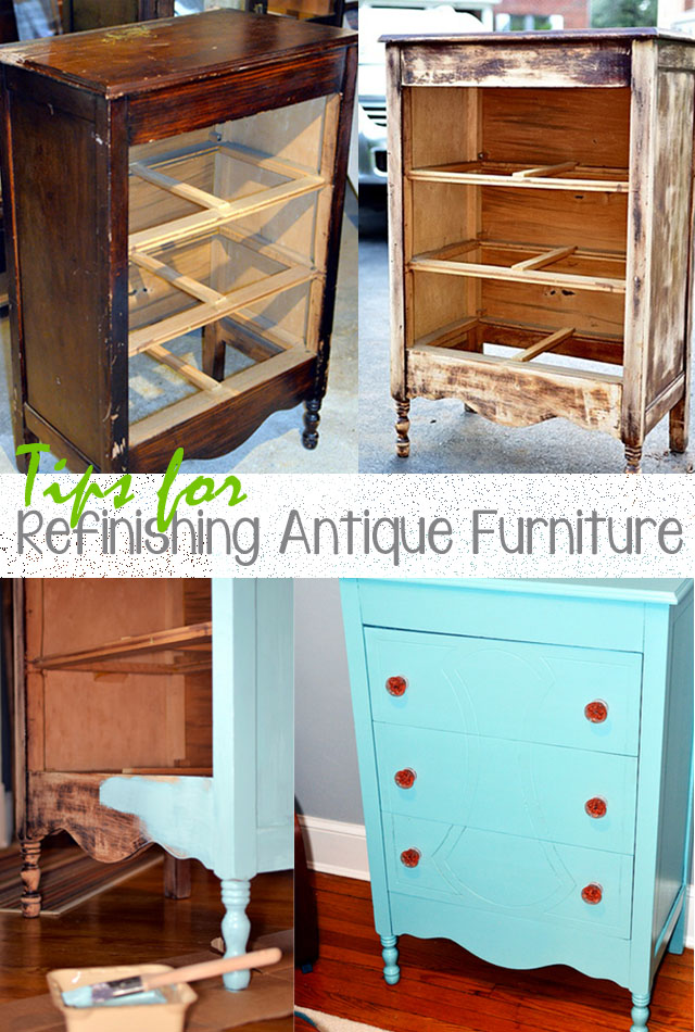 Tips for Refinishing Antique Furniture | ...love Maegan