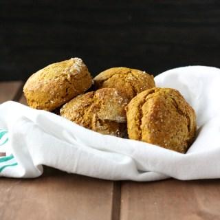 Sweet Kabocha Biscuits
