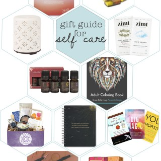 2016 gift guide for self care