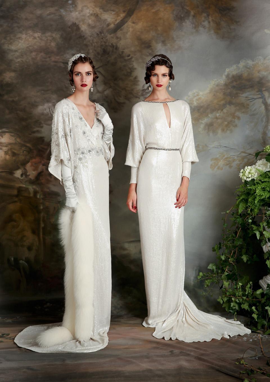 db2e87529a81 Art Deco Inspired Wedding Dresses. exquisite amp elegant long ...