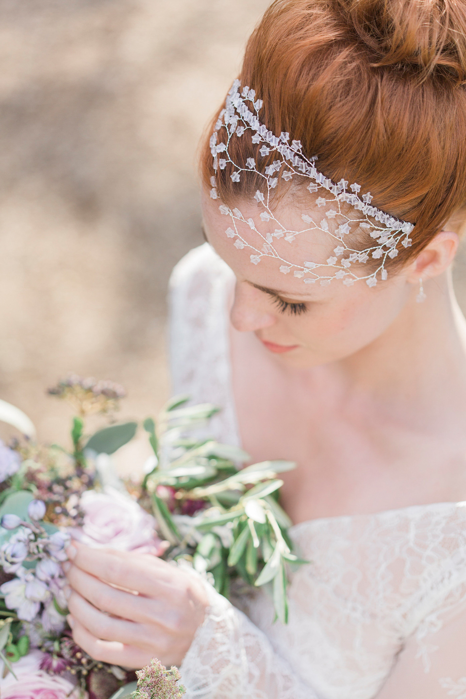 Hermione Harbutt Nature Inspired Hair Vines And Delicate