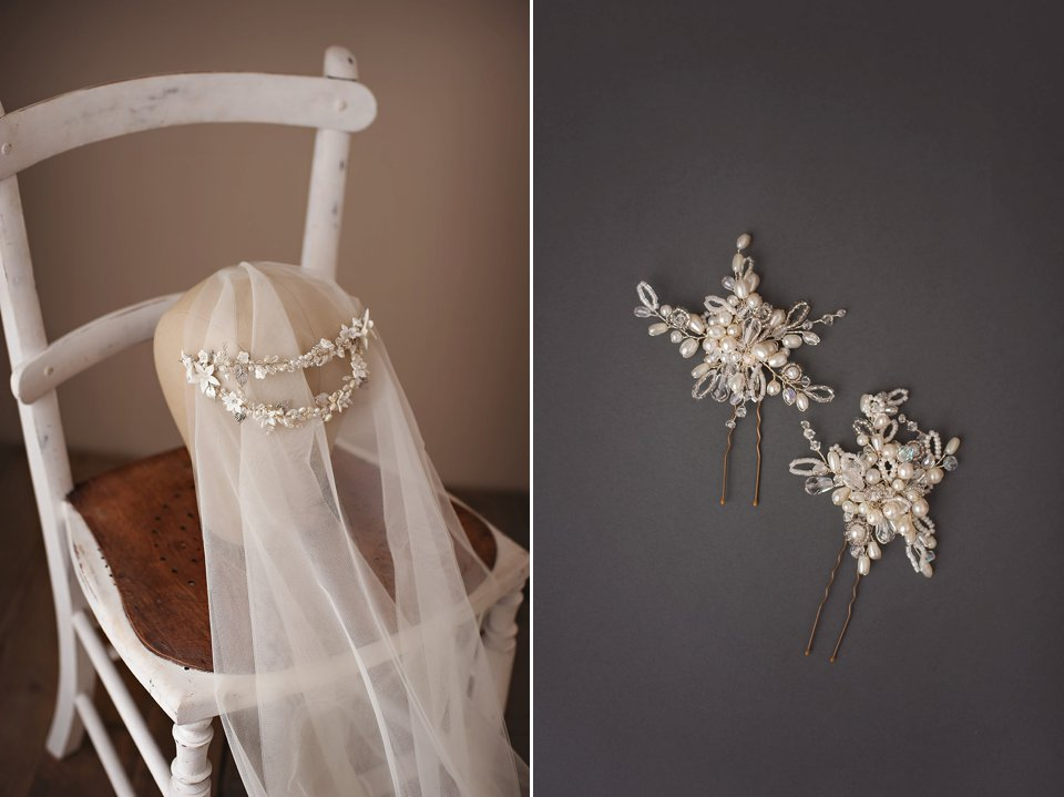 Introducing Mimosa Couture Bridal Accessories - modern, versatile and rRomantic wedding headpieces.