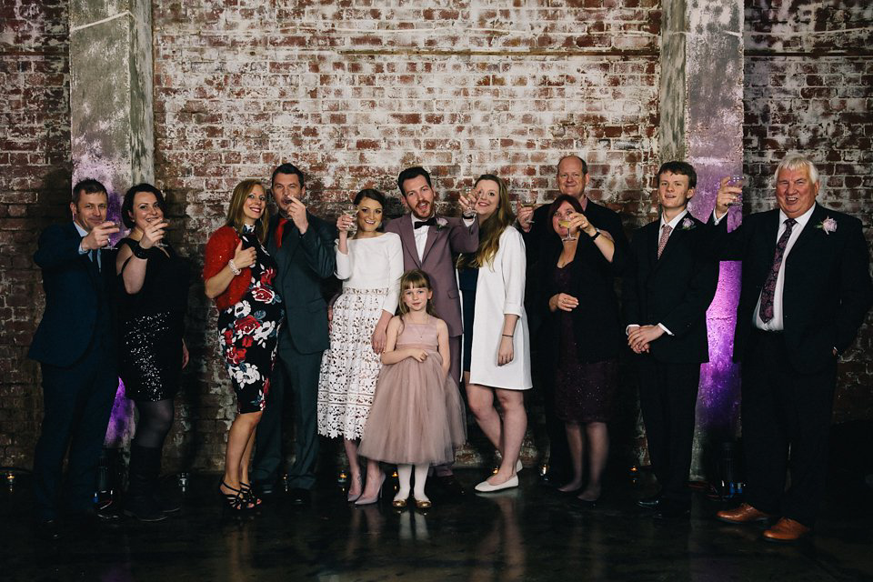Ceremony First Reception: A 5pm Ceremony And Warehouse Reception For A Quirky And