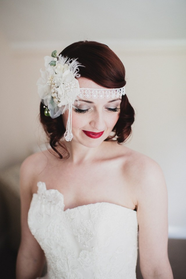 beautiful bridal hair & makeup from lipstick & curls (uk