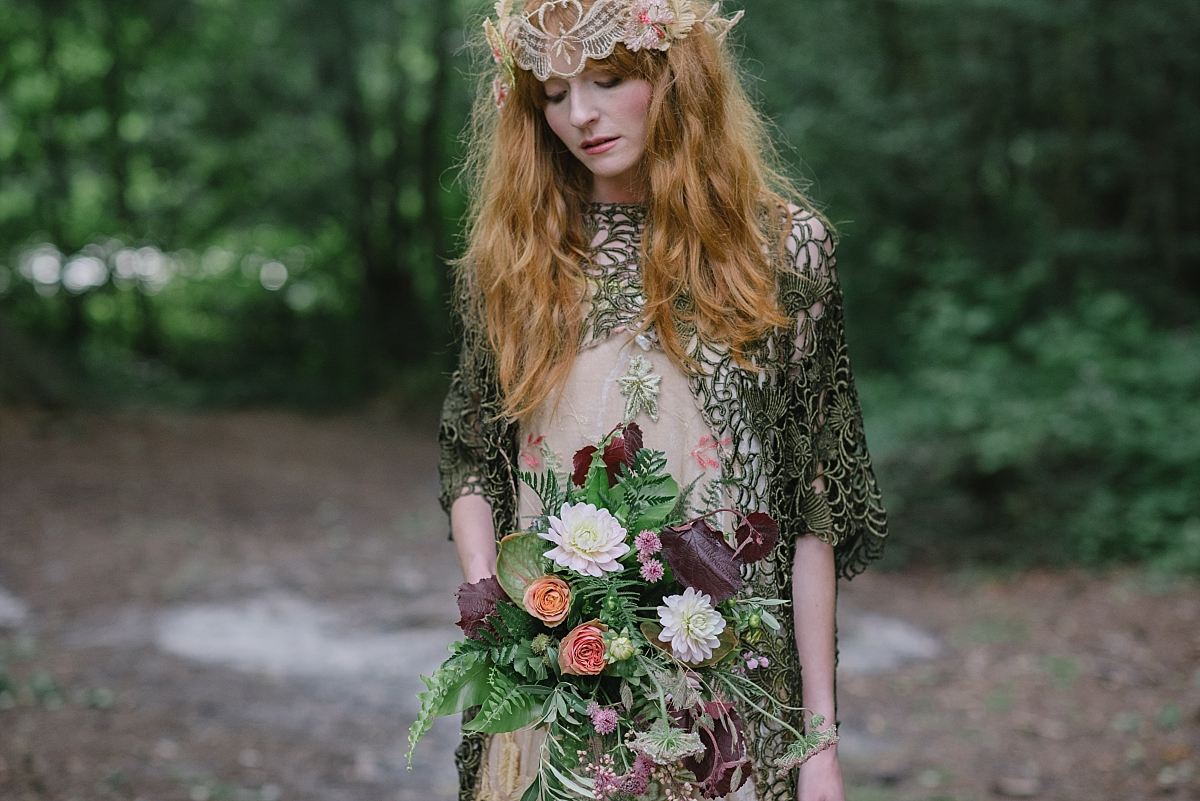 Non Traditional Red Wedding Dresses: Into The Woods: Non Traditional Bridal Fashion By Joanne