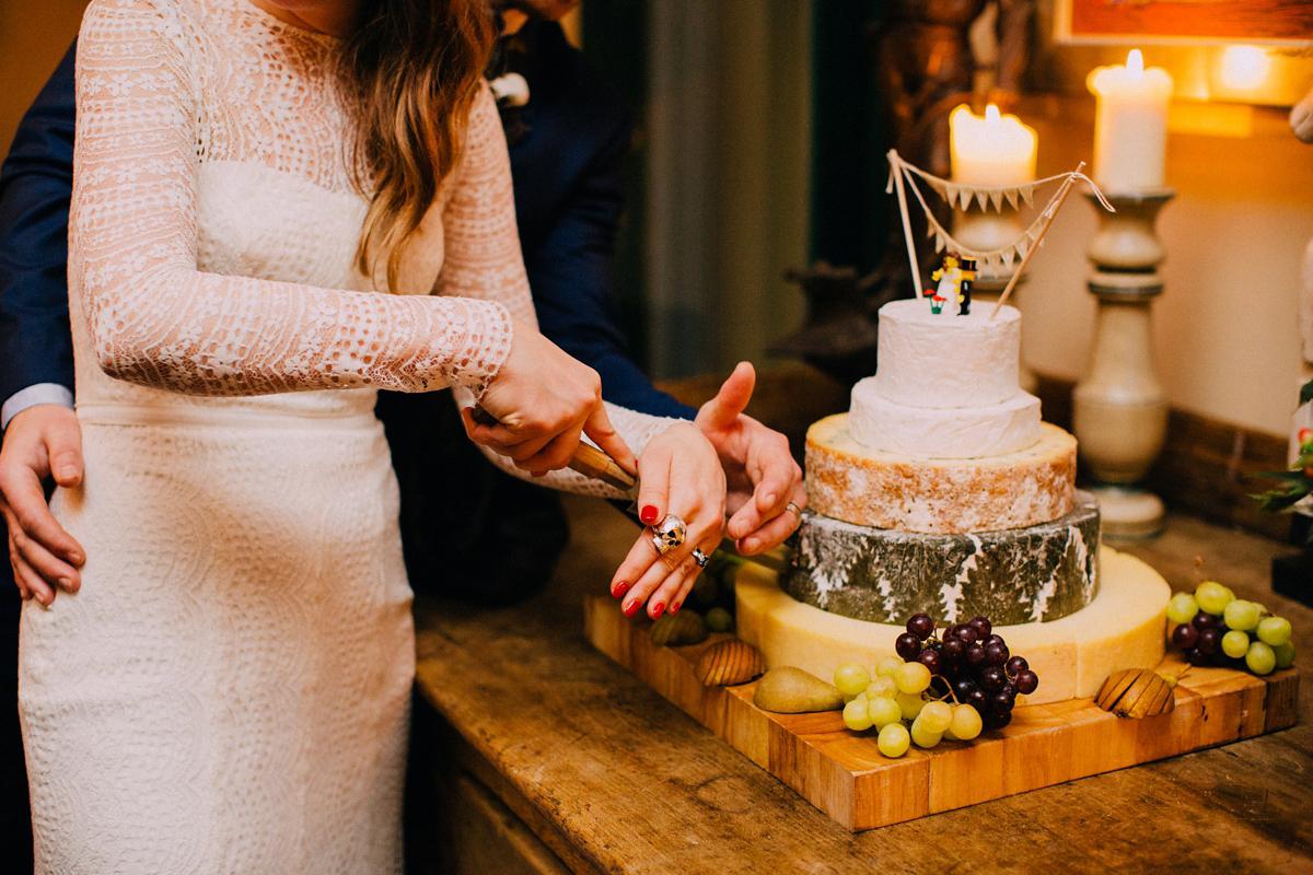 A Long Sleeved Jesus Peiro Dress For A Cool Modern London Pub Wedding Love My Dress 174 Uk Wedding Blog