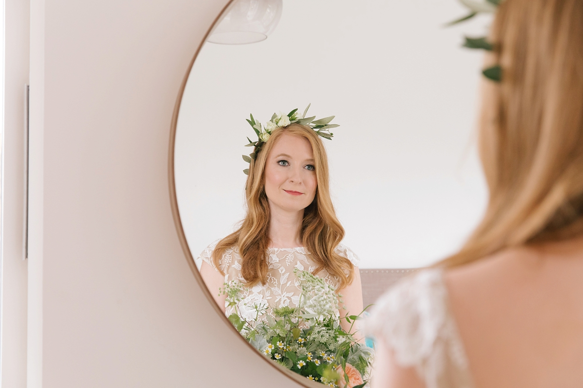KATIEPALMERPHOTOGRAPHY BECCI JOCHEM  - A Rime Arodaky Gown For a Cool East London Wedding With Northern Irish and Dutch Influences