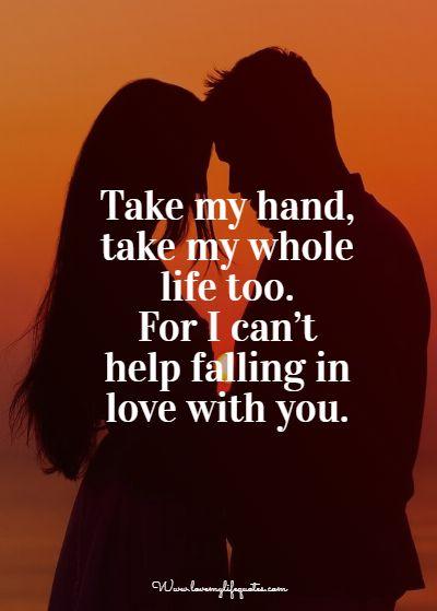 take my hand take my life