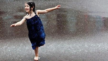 girl dancing in rain profile dp