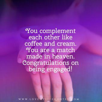Friends Engagement Quotes