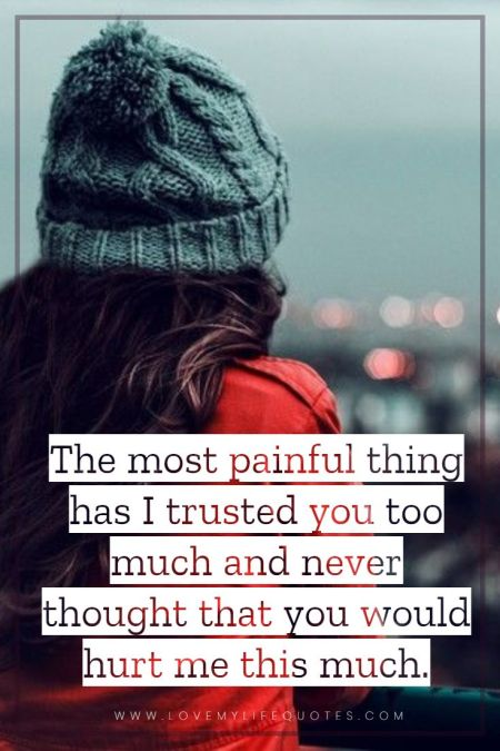 the most painful thing Love Failure Messages