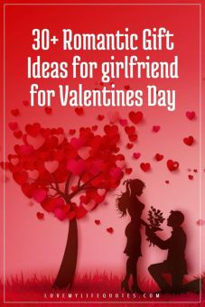 Romantic Gift Ideas for girlfriend for Valentines Day
