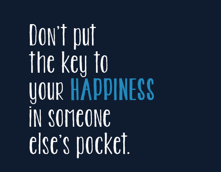 the key of you happiness