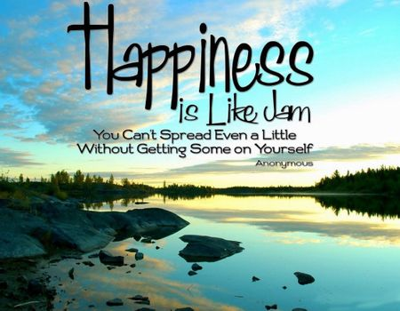 Happiness is like a jam
