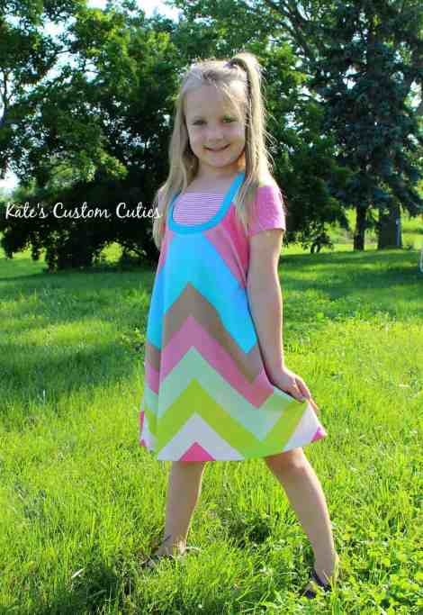 Love Notions Tuxedo Dress PDF Pattern