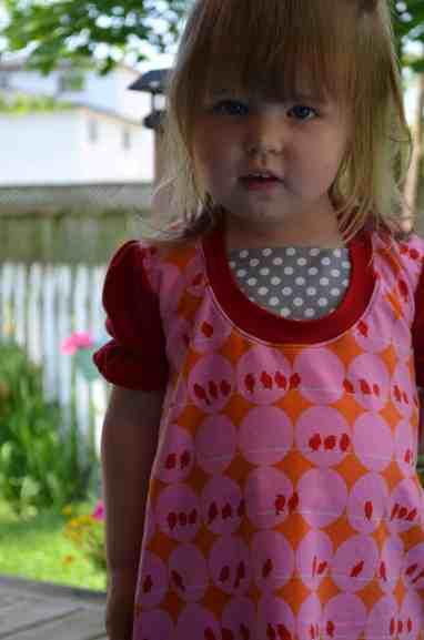 Love Notions Tuxedo Dress PDF Pattern