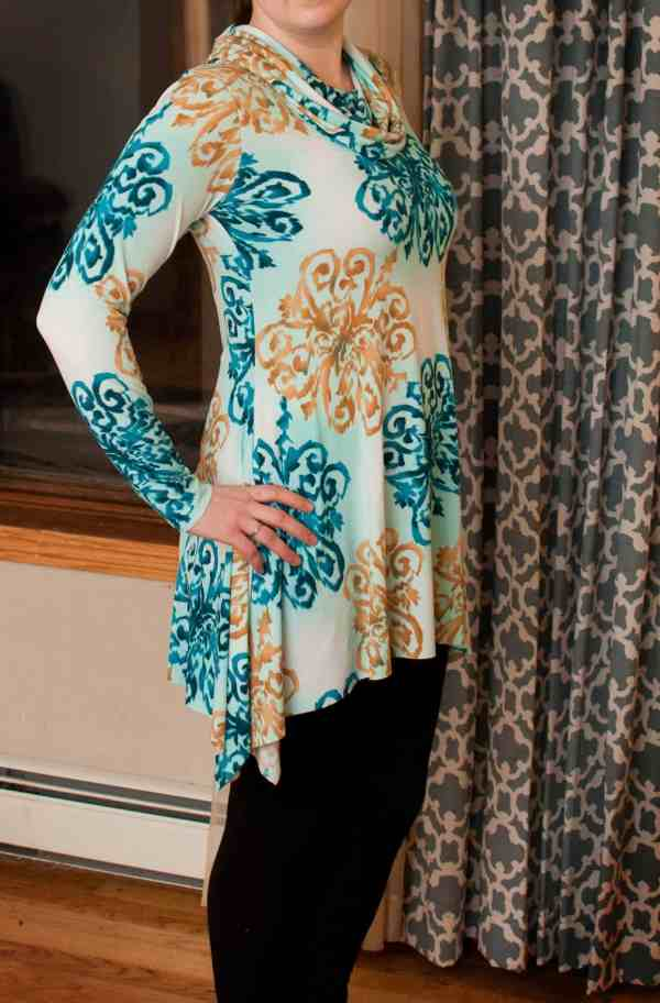 Love Notions Origami Tunic easy PDF Pattern