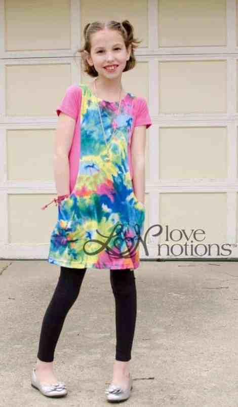 Love Notions Trendy Tunic PDF Pattern