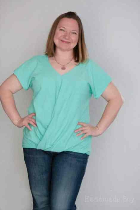 Love Notions Lotus Blossom Blouse easy PDF Pattern