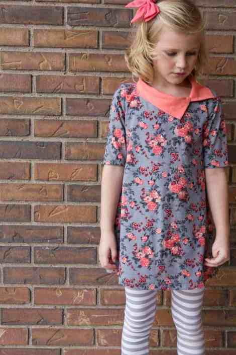Girls Li'l LDT PDF sewing pattern