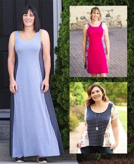 Tidal Top and Dress
