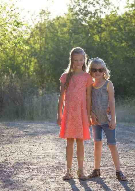 Girls Tidal Top & Dress