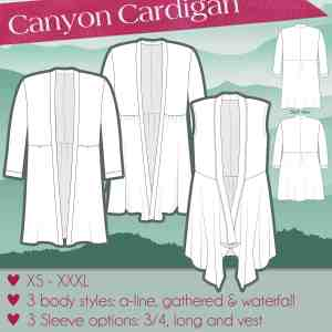 Canyon Cardigan cover