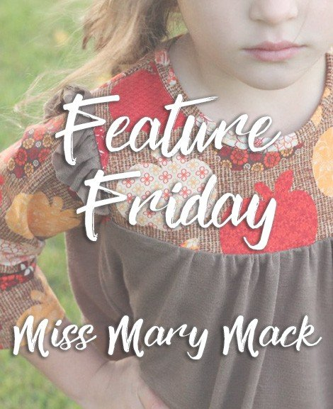 Love Notions Feature Friday – Miss Mary Mack – By The Kisses Co.