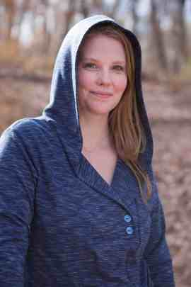 Whistler tunic with hoodie