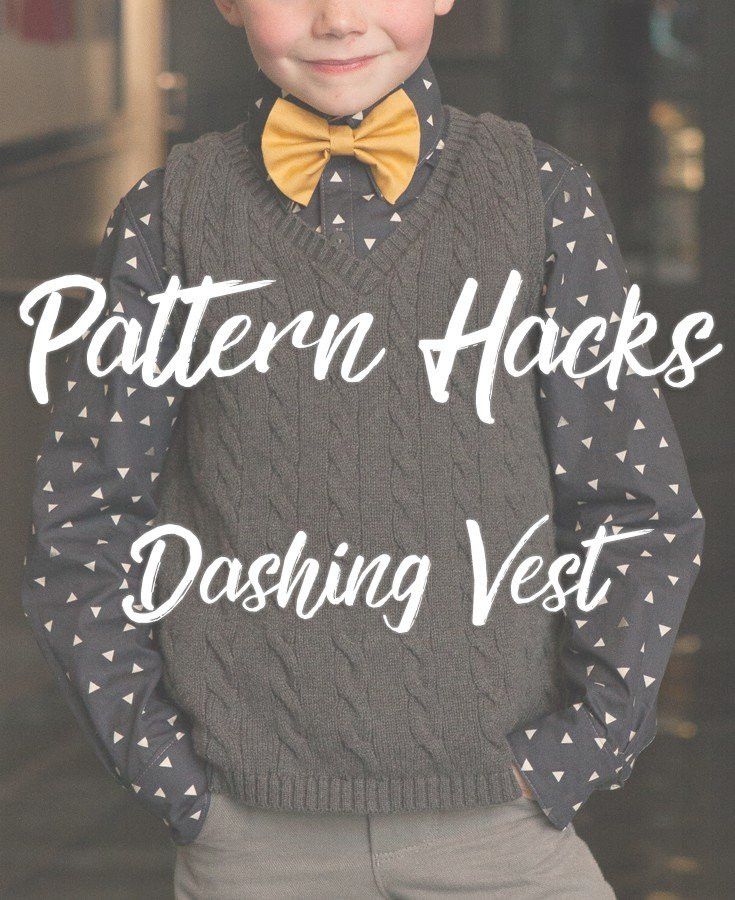 Pull Over Dashing Vest Hack