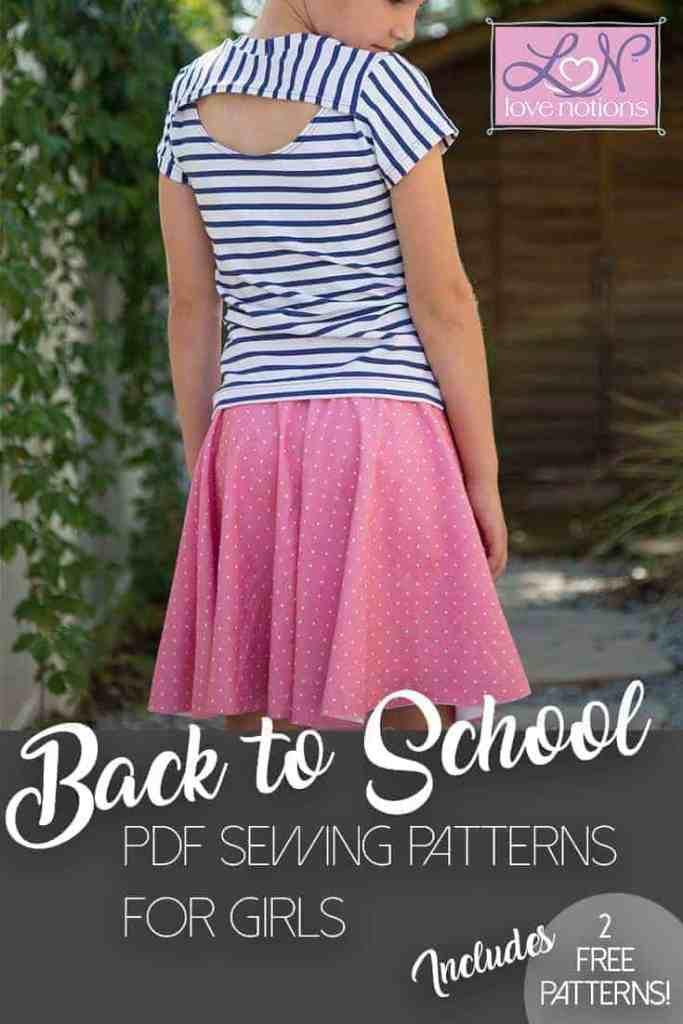 Start Back To School Sewing For Girls Today