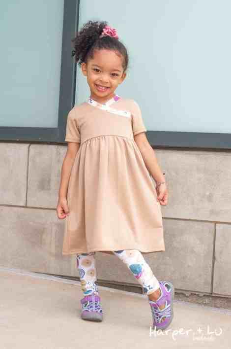 Girls playdress pattern