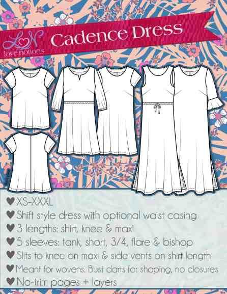 Cadence dress and top