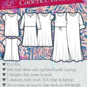 Cadence dress and top