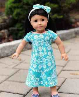 Doll swing dress pattern